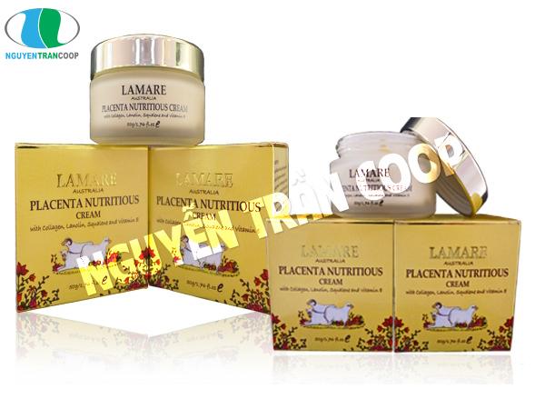 Kem Dưỡng Da Nhau Thai Cừu Lamare Placenta Nutritious Cream