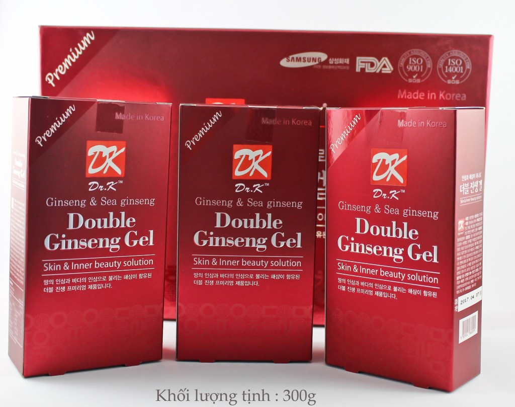 DOUBLE GINSENG GEL