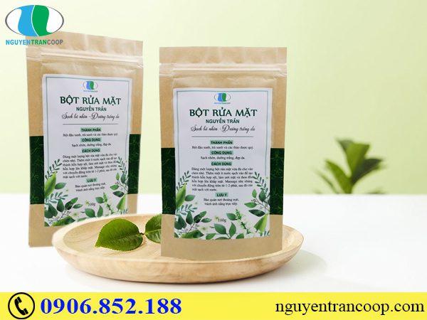 Bột Rửa Mặt Nguyễn Trần