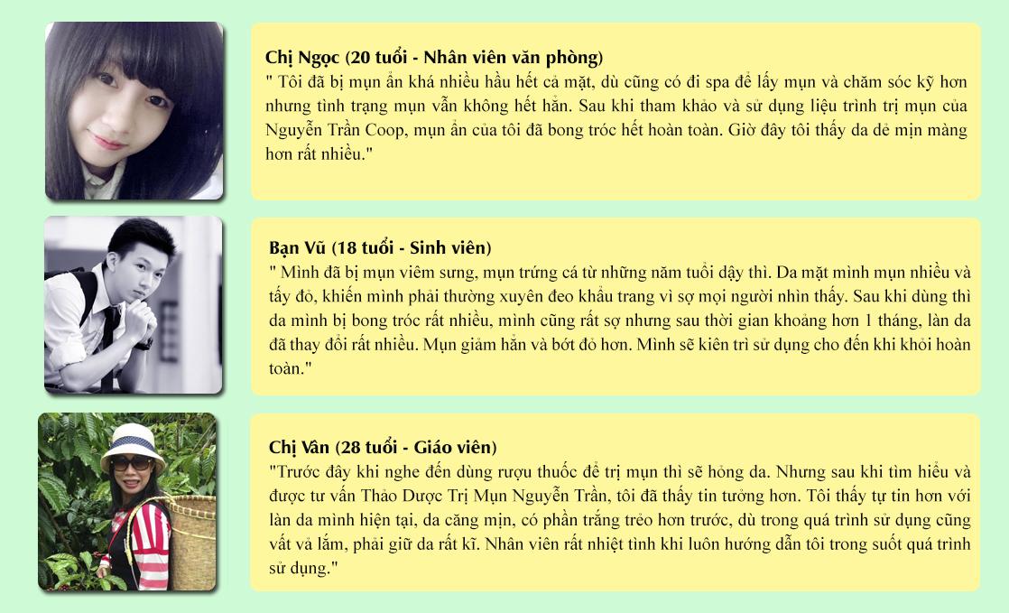 Thảo Dược Trị Mụn Nguyễn Trần