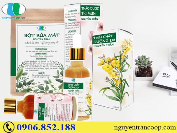 Trị Mụn Dưỡng Da Nguyễn Trần