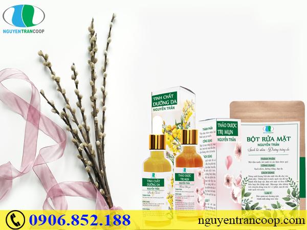 Hé lộ bí mật của bộ sản phẩm trị mụn từ thảo dược quý