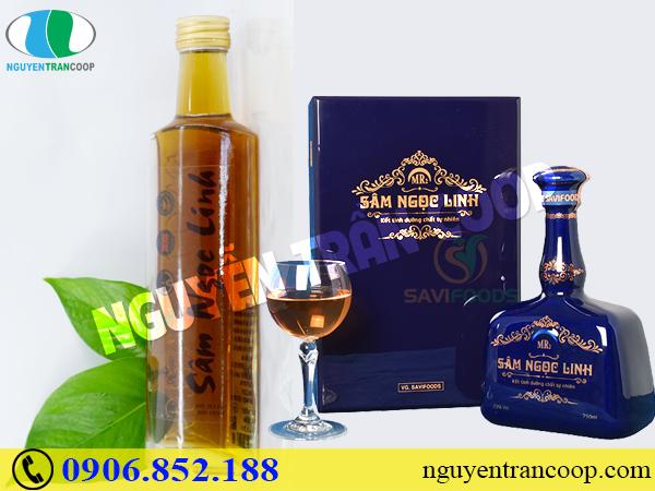 Muốn bồi bổ sức khỏe - nhớ ngay công dụng rượu Sâm Ngọc Linh