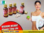 Thực hư tác dụng của Thuốc tăng cân Wisdom Weight như thế nào?